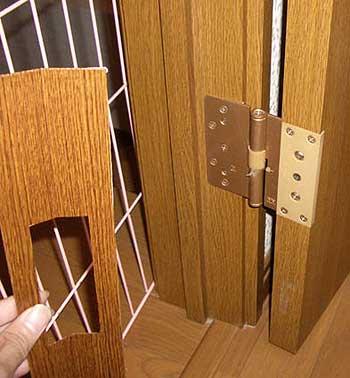 ドアのゆびはさみ防止