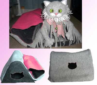 猫型ベッド