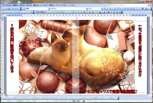 愛猫写真で作る超簡単ブックカバー