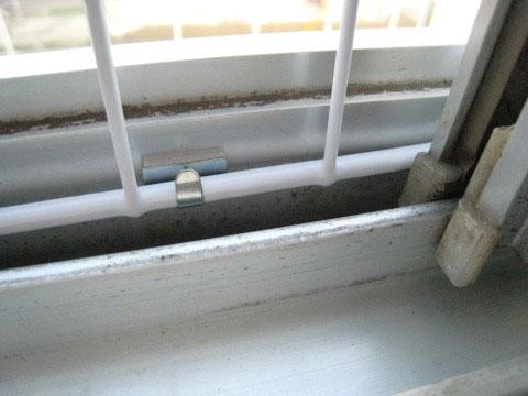 猫の窓脱走防止