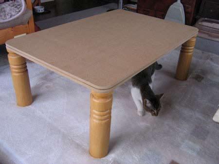 猫用こたつ 自作