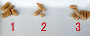 針葉樹パワーの脱臭・抗菌チップ 大きめの粒