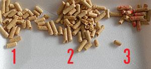 針葉樹パワーの脱臭・抗菌チップ 小さめの粒