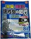 活性炭の猫砂ペーパーブレンド