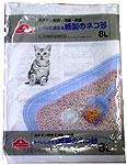 TOPVALU トイレに流せる紙製のネコ砂