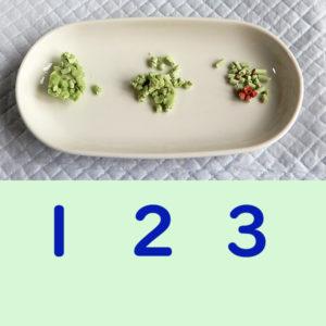 えんどう豆の猫砂