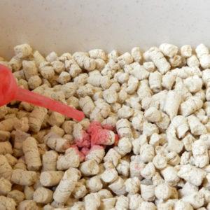 ひのきの猫砂(流せるひのきでつくった猫砂)HKT-80
