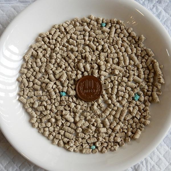 お茶の猫砂