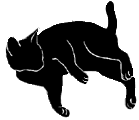 lay2 猫シルエット Cat Silhouette