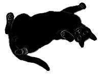 lay5 猫シルエット Cat Silhouette