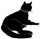 lay6 猫シルエット Cat Silhouette