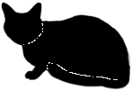 loaf10 猫シルエット Cat Silhouette