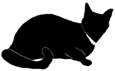 loaf11 猫シルエット Cat Silhouette
