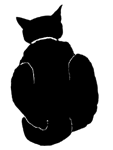 loaf13 猫シルエット Cat Silhouette