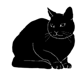 loaf18 猫シルエット Cat Silhouette