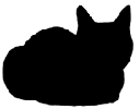 loaf2 猫シルエット Cat Silhouette