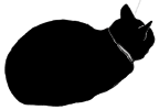 loaf3 猫シルエット Cat Silhouette