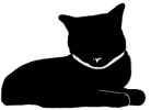 loaf7 猫シルエット Cat Silhouette