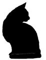 sit15 猫シルエット Cat Silhouette