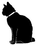 sit29 猫シルエット Cat Silhouette