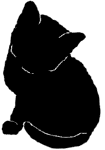 sit32 猫シルエット Cat Silhouette
