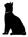 sit9 猫シルエット Cat Silhouette