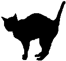 stand12 猫シルエット Cat Silhouette