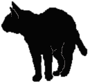 stand15 猫シルエット Cat Silhouette