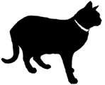 stand8 猫シルエット Cat Silhouette
