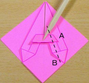 猫折り紙 origami cat